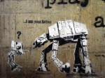Star Wars AT-AT Graffiti: Yo soy tu padre