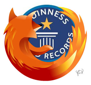 Firefox 3 y Record Guinness